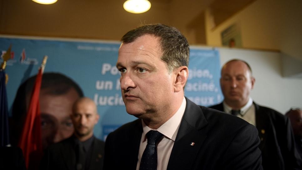Le vice-président du FN, Louis Aliot le 13 décembre 2015 à Toulouse