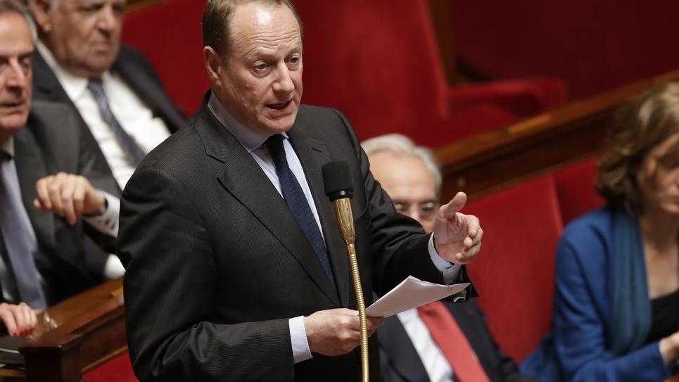 Le maire LR du XVe arrondissement, Philippe Goujon, à l'Assemblée nationale, le 7 juin 2016 à Paris