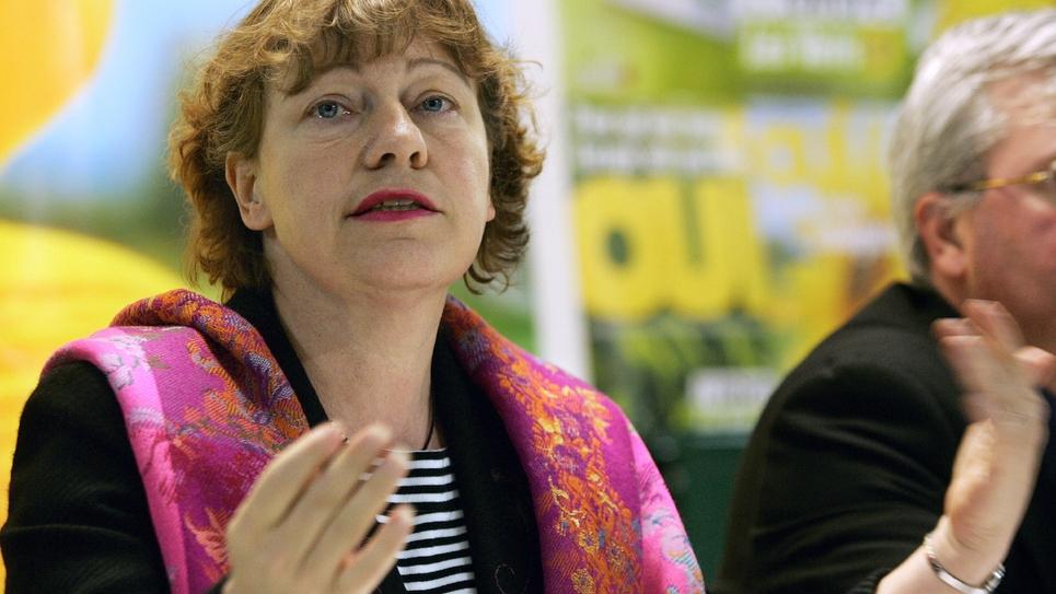 Marie-Christine Blandin, sénatrice écologique du Nord, le 14 avril 2005 à Lille