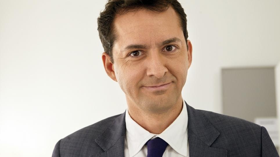 L'essayiste Hakim El Karaoui à Paris le 10 décembre 2010