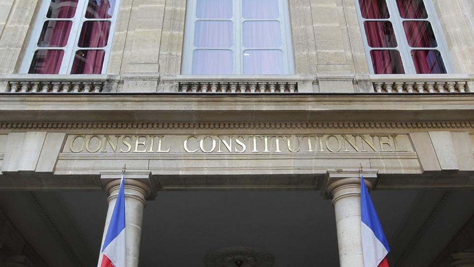 Le Conseil constitutionnel le 21 février 2012, à Paris