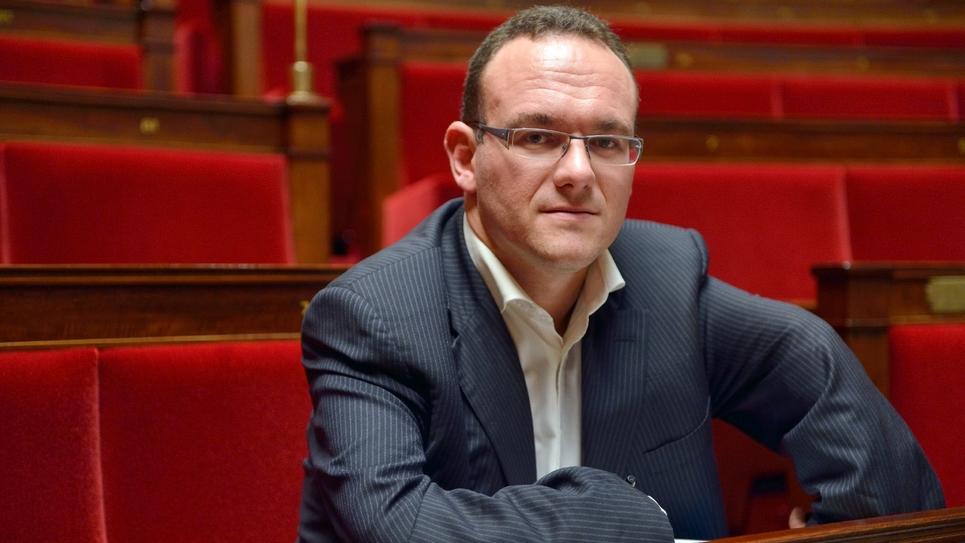 Le député LR Damien Abad en 2012