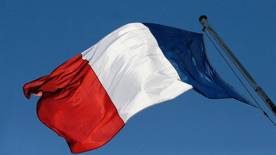 Un drapeau français, le 30 janvier 2013 à l'Elysée