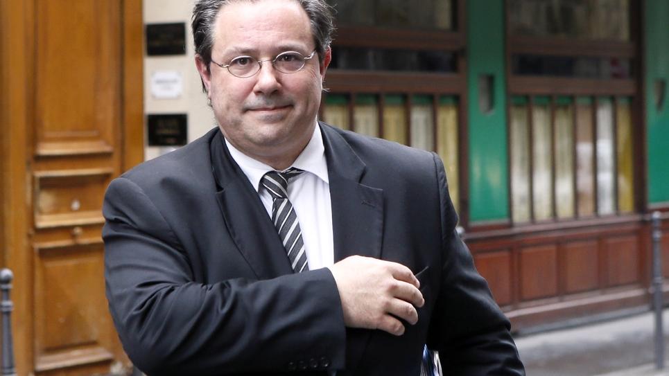 Jérôme Peyrat, ancien conseiller des présidents Chirac et Sarkozy et pilier de l'ex-UMP, le 9 avril 2013 à Paris