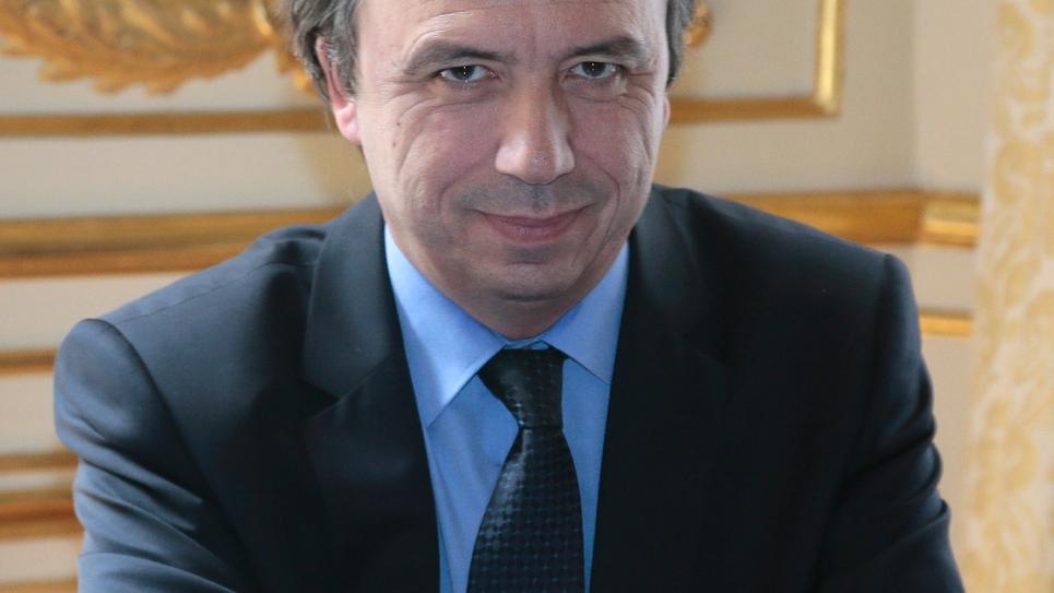 Michel Yahiel, le conseiller social de François Hollande,  nommé à la tête de France Stratégie, à Paris le 4 juillet 2013