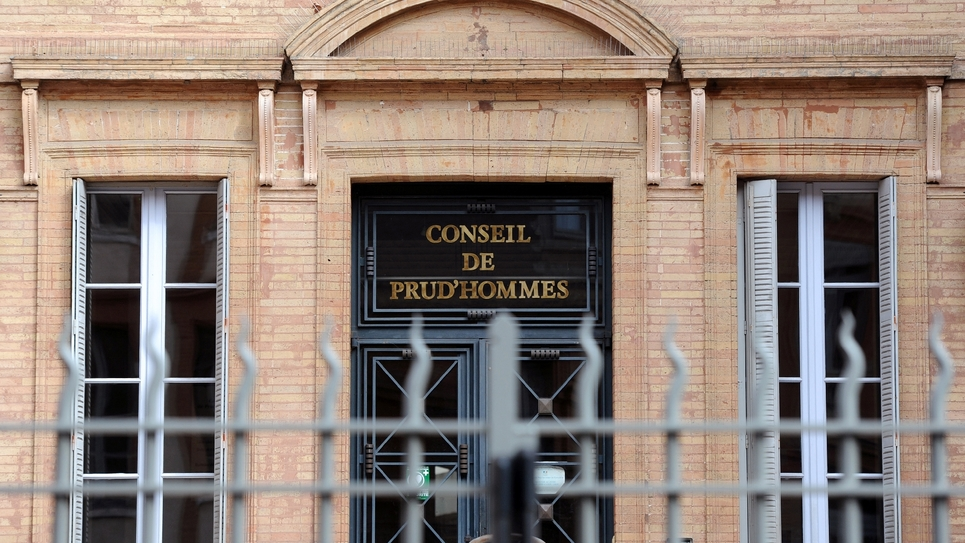 Le Conseil des Prud'hommes à Toulouse le 9 octobre 2013