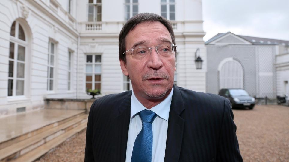 Le député Philippe Gomes, patron de Calédonie ensemble, en 2013 à Paris