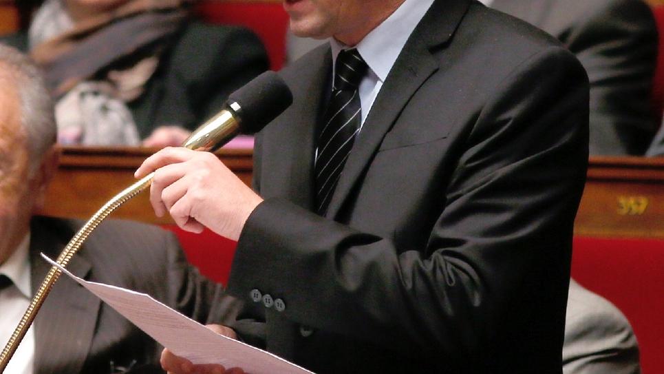 Le député Francois-Michel Lambert (ex-EELV, aujourd'hui LREM), à l'Assemblée nationale le 5 novembre 2013
