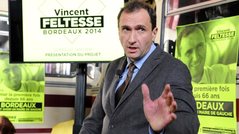 Vincent Feltesse le 20 janvier 2014 à Bordeaux