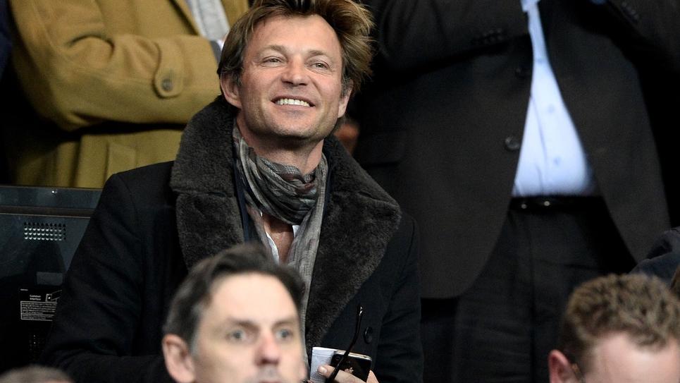 Le présentateur des JT du week-end de France 2, Laurent Delahousse, le 12 mars 2014 à Paris