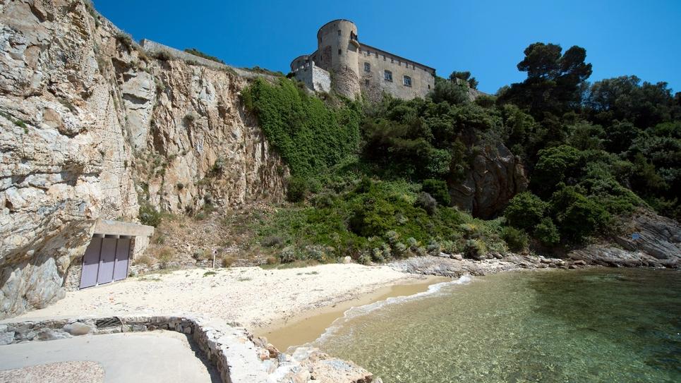 Le fort de Brégançon le 20 juin 2014