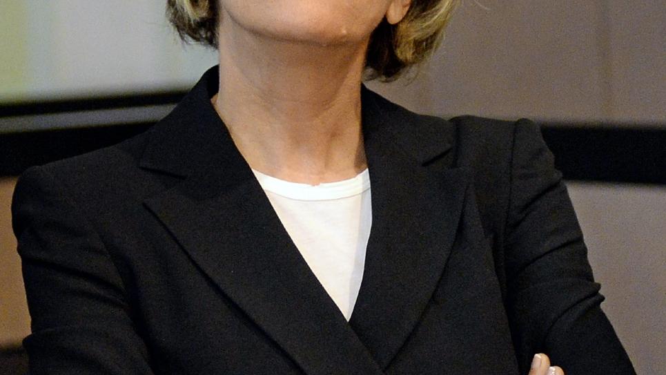 La députée socialiste de Marseille Sylvie Andrieux, condamnée pour avoir distribué des fonds à des associations fictives alors qu'elle était conseillère régionale le 2 juin 2014 au tribunal d'Aix-en-Provence