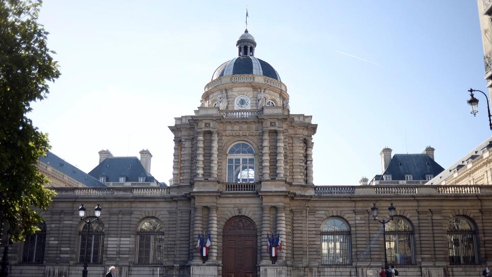 Le Palais du Luxembourg, siège du Sénat