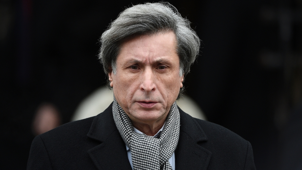 Patrick de Carolis à Paris le 6 janvier 2015
