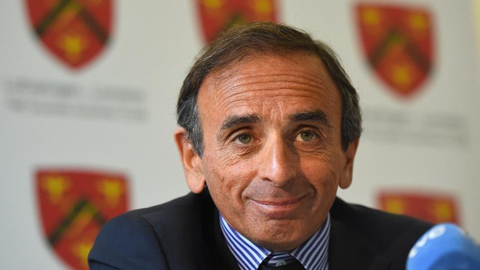 Éric Zemmour. Photo prise le 6 janvier 2015.