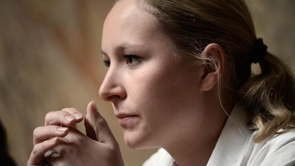"""Pour Marion Marechal-Le Pen, l'IVG est un """"sujet tabou en France, un sujet qui provoque l'hystérie"""""""