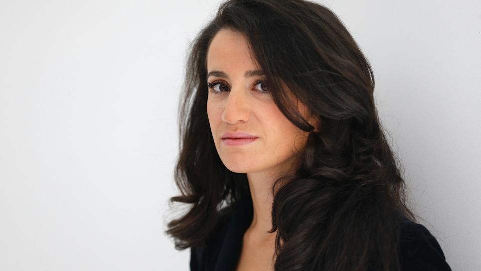 Lydia Guirous, porte-parole LR, le 21 septembre 2015 à Paris
