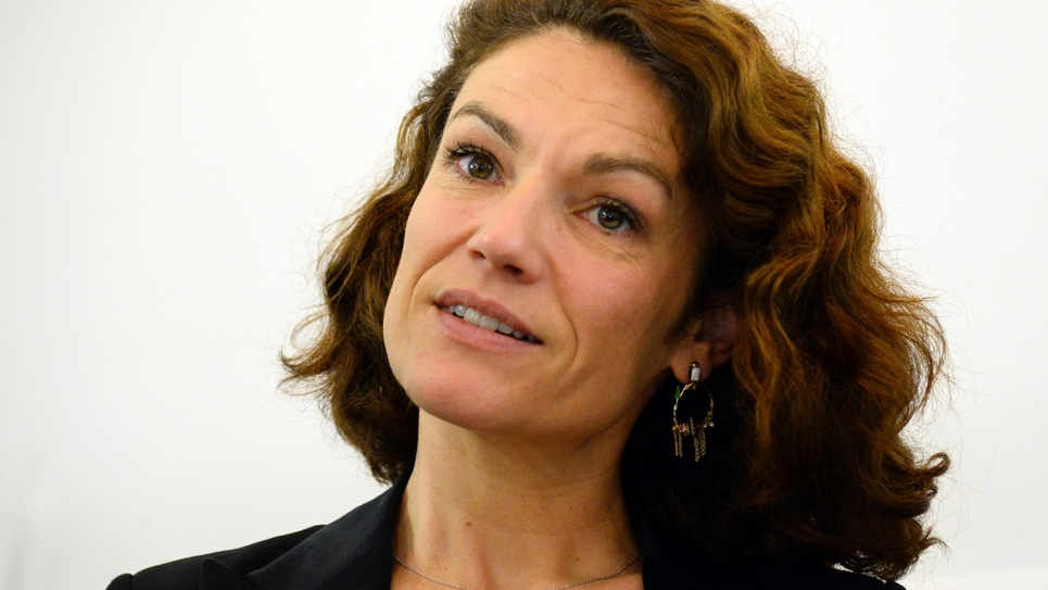 Chantal Jouanno, à Paris le 28 octobre 2015