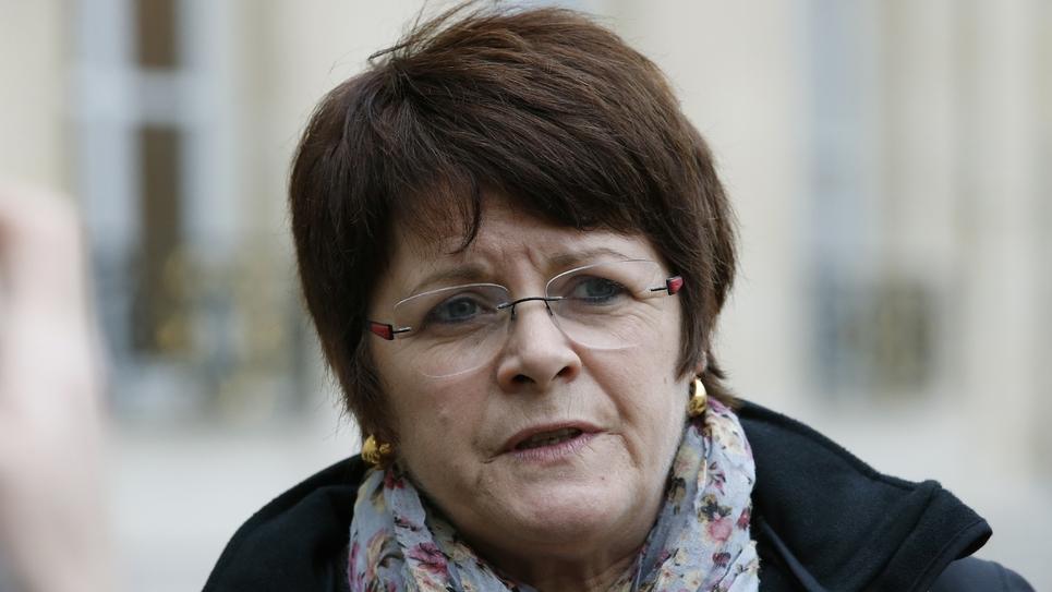 L'ancienne présidente du Syndicat de la magistrature le 29 octobre 2015 à Paris