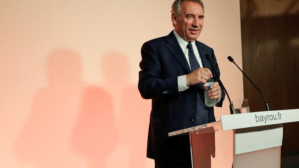 François Bayrou, le 21 juin 2017 à Paris