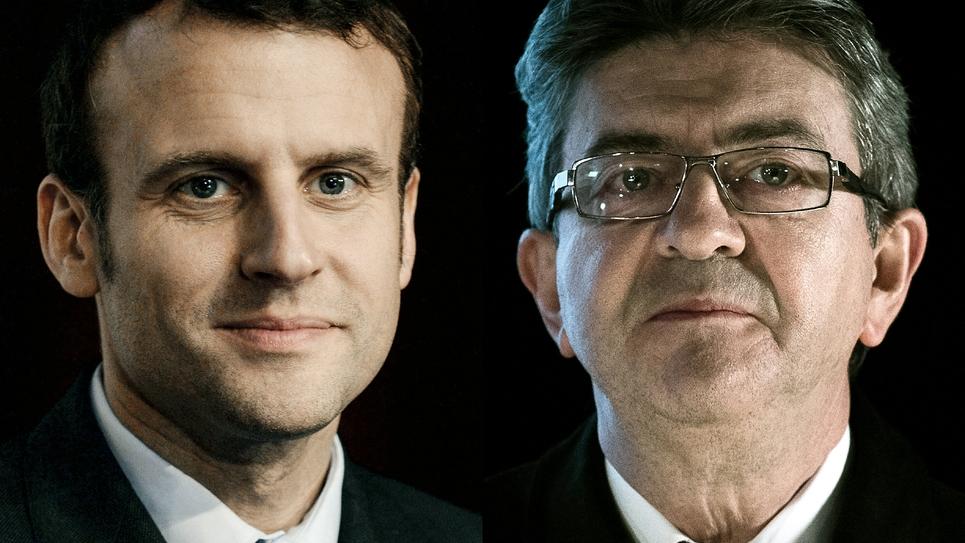 """Un éventuel rassemblement de la gauche jusqu'à Emmanuel Macron """"serait clownesque"""", estime Jean-Luc Mélenchon dans un entretien à Marianne"""
