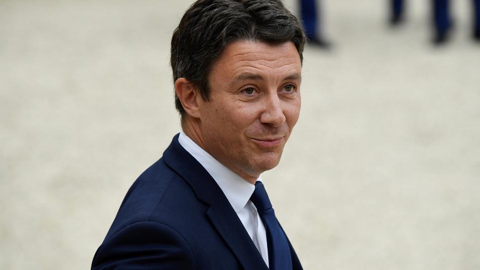 Benjamin Griveaux, photographié à Paris en octobre 2018
