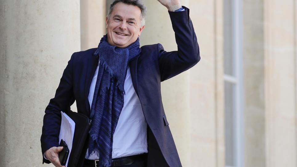 Le secrétaire national du PCF Fabien Roussel, le 29 mars 2019 à Paris