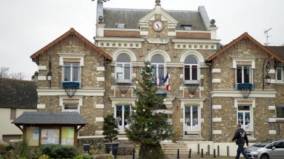 La mairie de Champlan le 4 janvier 2015