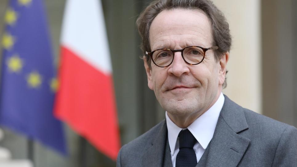 Le chef de fil des députés En Marche Gilles Le Gendre, le 4 février 2019 à Elysée, à Paris