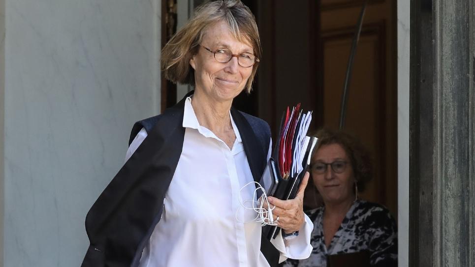 La ministre de la Culture Françoise Nyssen à Paris le 27 juin 2018