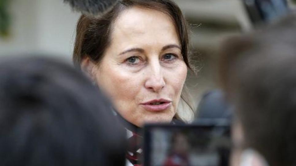 La ministre de l'Ecologie et de l'Energie, Ségolène Royal, le 22 décembre 2014 à Paris