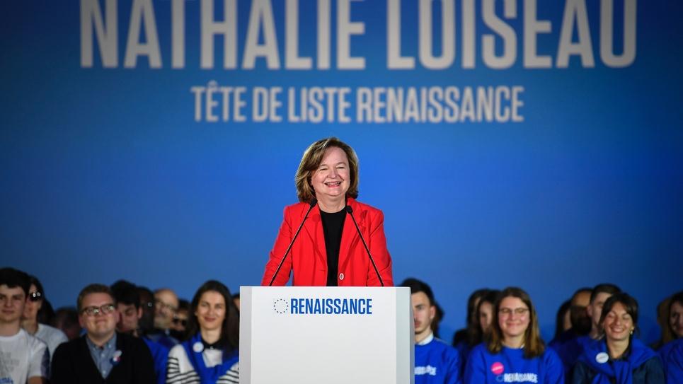 Nathalie Loiseau le 6 mai 2019 à Caen