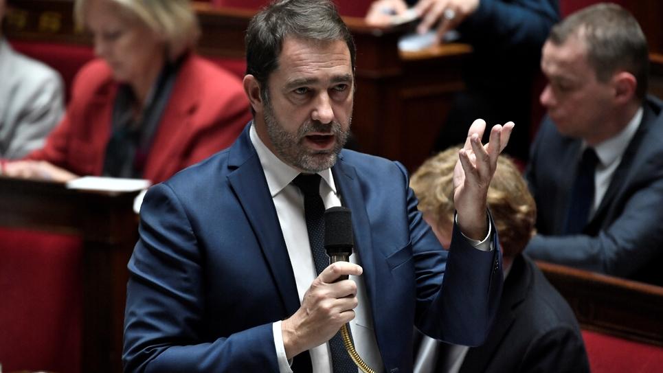 Christophe Castaner le 15 janvier 2019 à l'Assemblée nationale