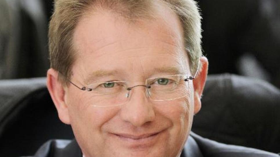 Didier Marie, sénateur socialiste et ancien président de Seine-Maritime, le 2 avril 2015 à Rouen