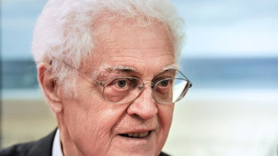 Lionel Jospin le 13 mai 2014 à Tourcoing