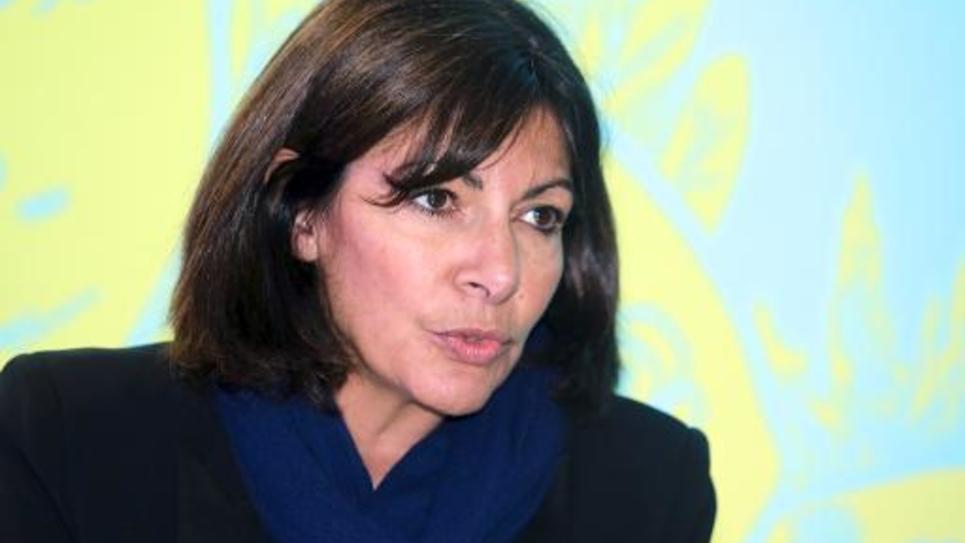 La maire de Paris Anne Hidalgo à Bordeaux le 29 janvier 2015