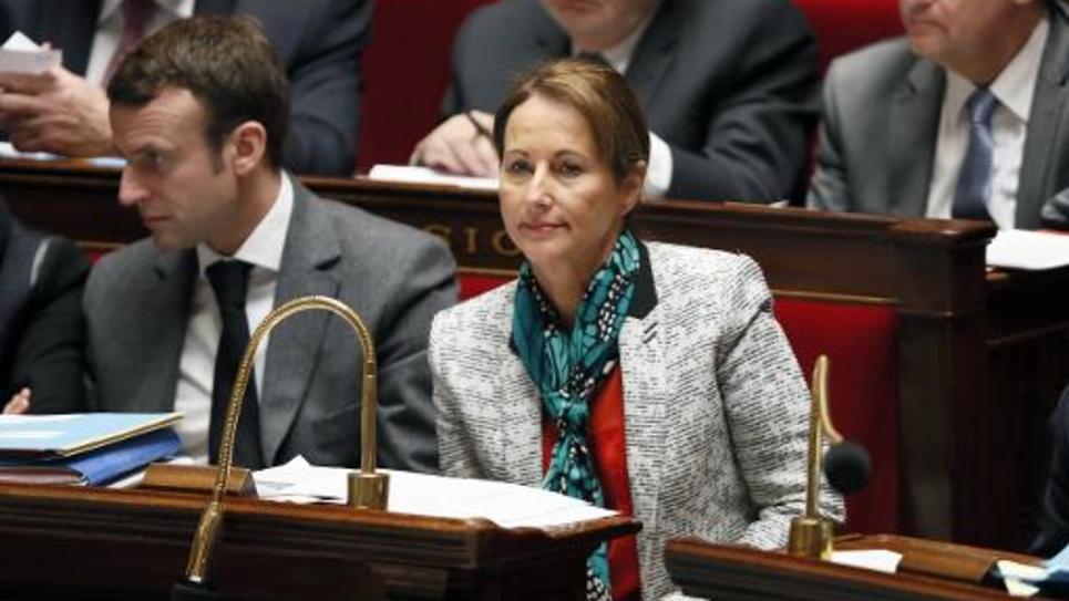 La ministre de l'Ecologie Ségolène Royal à l'Assemblée Nationale, le 4 février 2015