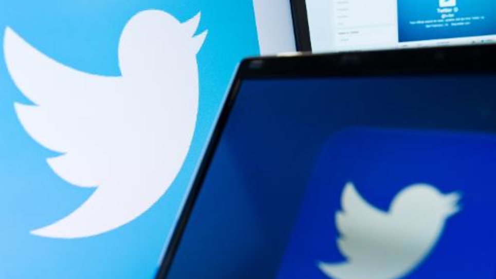 Le logo du réseau Twitter