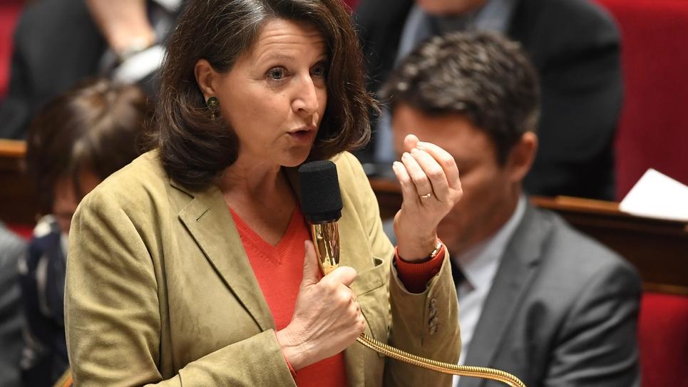 Le ministre de la Santé Agnès Buzyn à l'Assemblée nationale le 23 janvier 2019