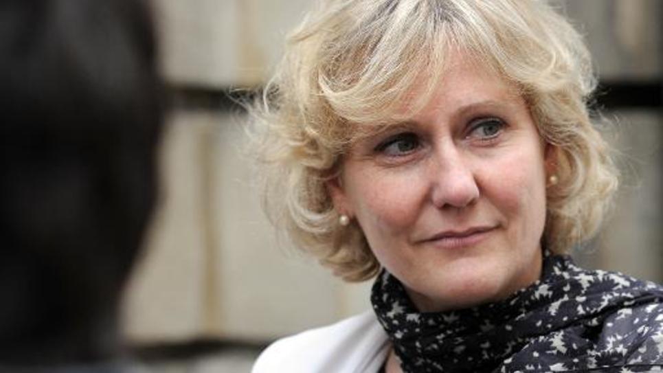 La déléguée générale chargée des élections à l'UMP Nadine Morano, le 27 mai 2014 à Paris