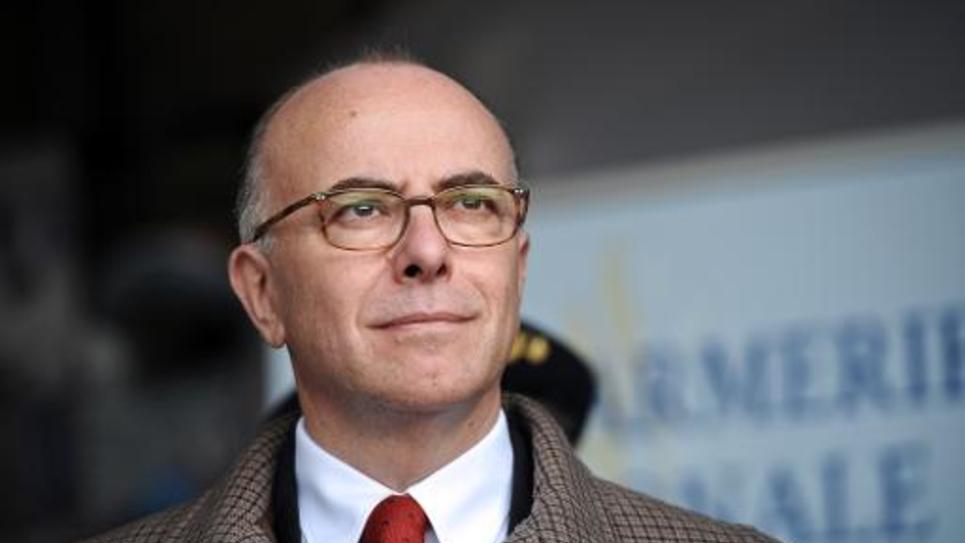 Le ministre de l'Intérieur Bernard Cazeneuve le 29 novembre 2014 à Angoulins