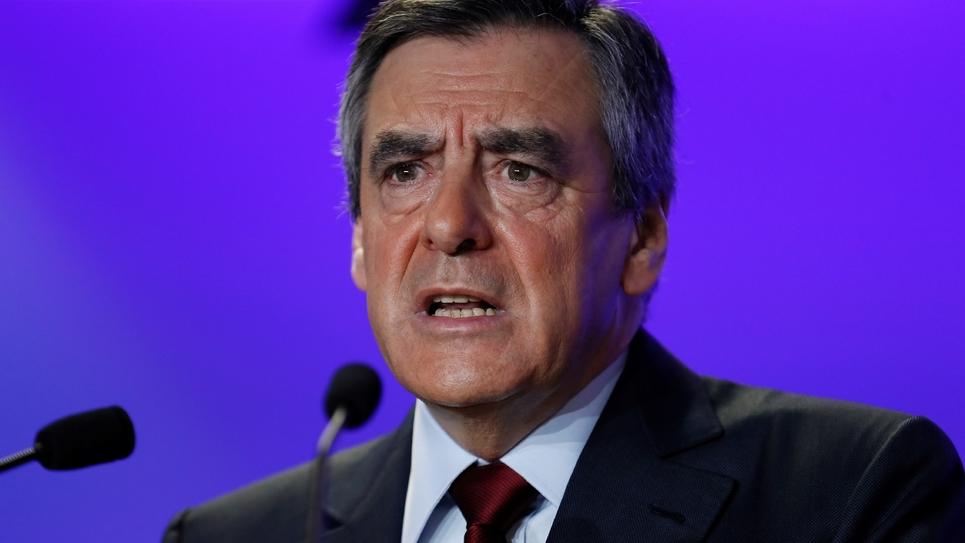 François Fillon, le 10 janvier 2017, à Paris.