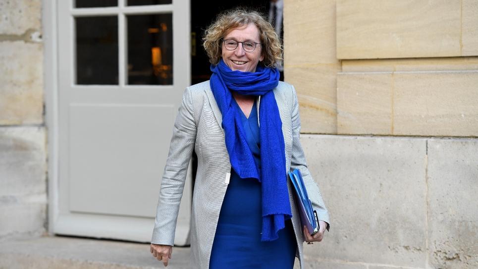 La ministre du Travail Muriel Pénicaud sort de l'Hôtel Matignon, le 29 avril 2019 à Paris