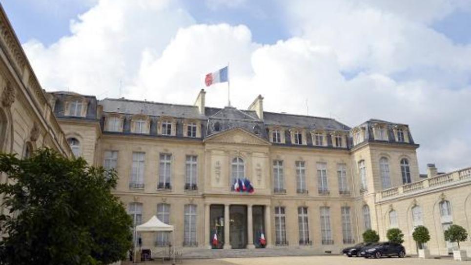 Le palais de l'Elysée, le 10 septembre 2013 à Paris