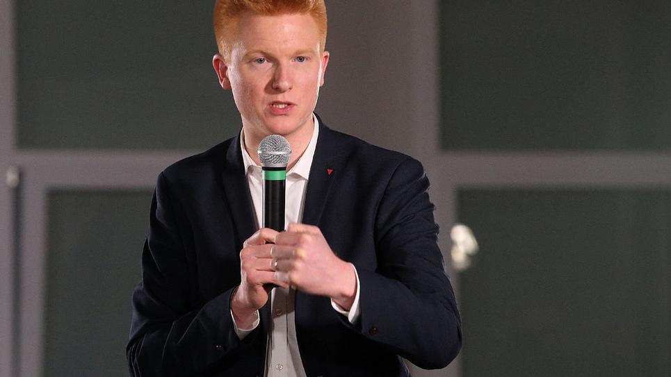 Le député La France insoumise (LFI) Adrien Quatennens, à Saint-Juliens-les-Villas, le 28 février 2019