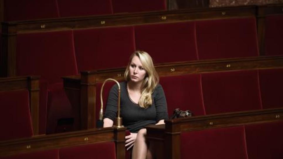 La députée FN du Vaucluse Marion Maréchal Le Pen à l'Assemblée nationale le 12 novembre 2014