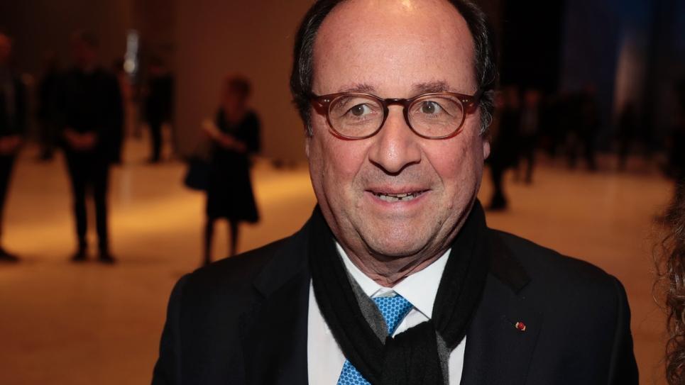 François Hollande le 20 février 2019 à Paris