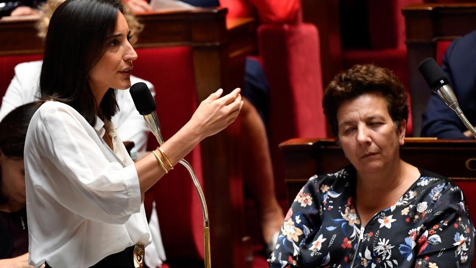 Brune Poirson, secrétaire d'Etat à la Transition écologique, à l'Assemblée nationale, le 1er août 2018