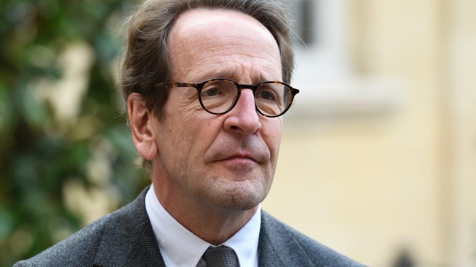 Gilles Le Gendre, chef de file des députés LREM, à son arrivée à Matignon, le 29 avril 2019 à Paris