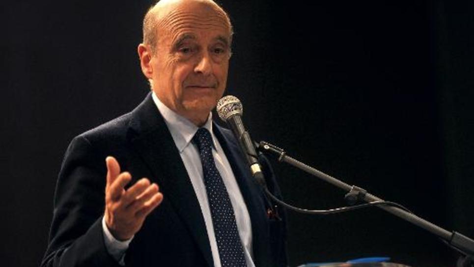 Le maire de Bordeaux Alain Juppé le 18 mars 2015 à Tourcoing